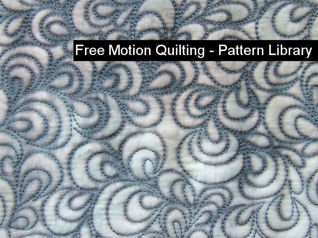 free motion quilting pattern designmatters tv