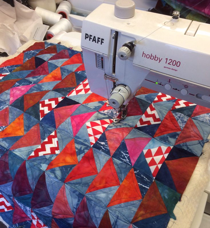 Fast Flying Geese Quilting