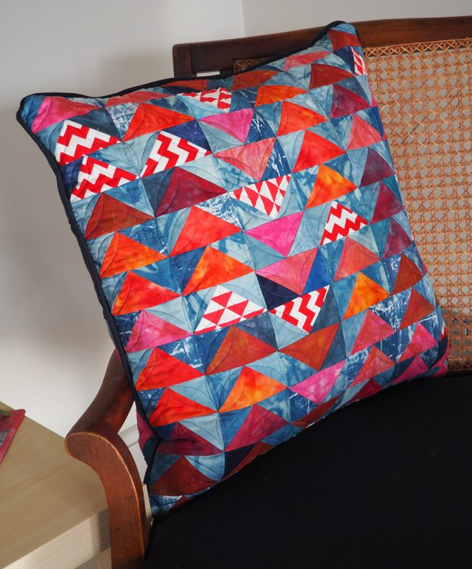 Fast Flying Geese Cushion